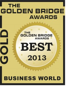 2013 e-Cycle Gold Company of the Year Golden Bridge Award