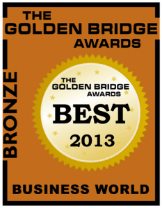 2013 e-Cycle Bronze Executive of the Year Golden Bridge Award