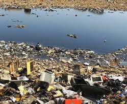e-waste in landfills